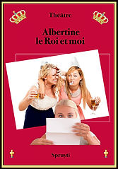 affiche PTAlbertine, le Roi et moi_3fond