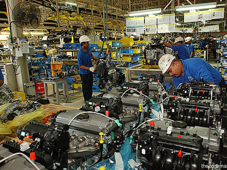 December 2020 Manufacturing Sales Rise 4.5%; Highest Growth Since March 2020 — DOSM