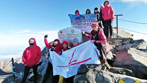 MTT Shipping Supports Kinabalu Pink Ribbon as Breast Cancer Survivors Climb Mount Kinabalu