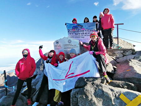 MTT Shipping Supports Kinabalu Pink Ribbon as Breast Cancer Survivors Climb Mount Kinabalu