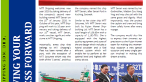 MTT Shipping Welcomes 2020 by Taking Delivery of MTT Senari