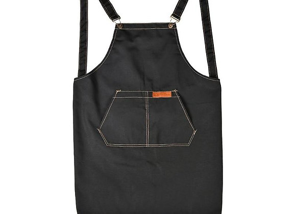 Salon Barber Apron With Pocket Adjustable Cotton Canvas Aron