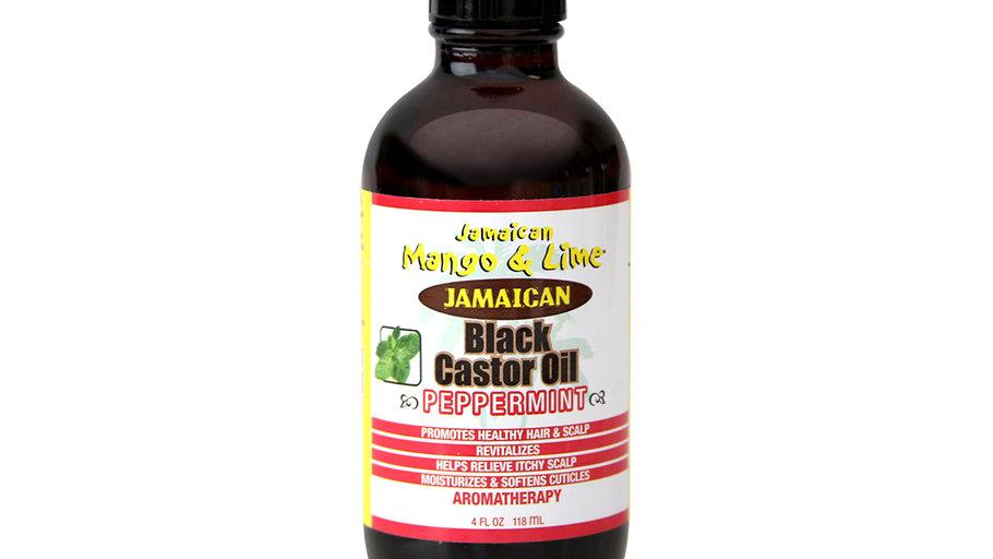 Mango And Lime Jamaican Black Castor Oil: Peppermint