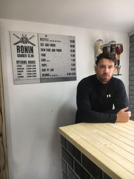 On The High Street: Ronin Barber Club