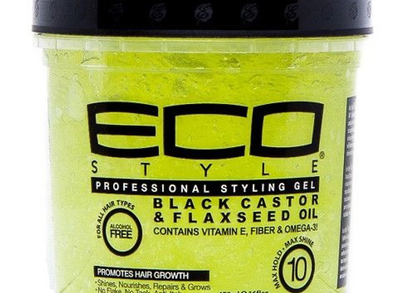 ECO Style Gel: Black Castor and Flaxseed Oil