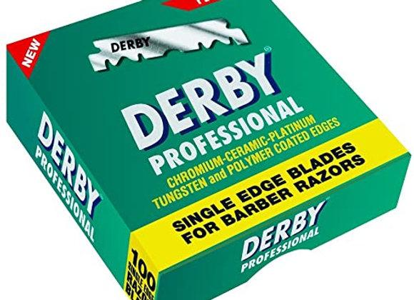 Derby Extra Single Sided Professional Razor Blades (100)