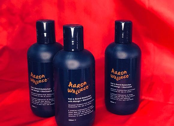 Hair & Beard Moisturiser With Mango Butter + Blackseed Oil