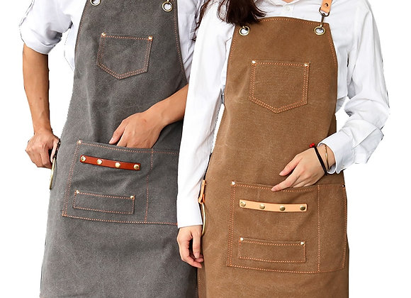 2021 New Thick Canvas Unisex Apron for Barber/Salon