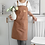 Thumbnail: 2021 New Thick Canvas Unisex Apron for Barber/Salon