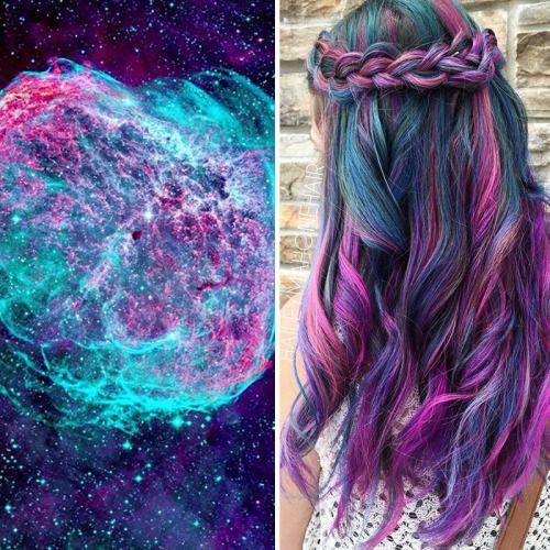 Galaxy hair, bitches