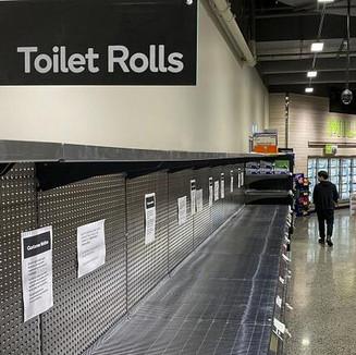 Melbourne: Greedily bulk-buying toilet paper