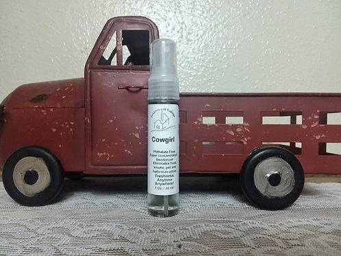 Cowgirl Air Freshener Spray