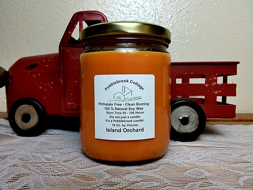 Island Orchard 100% Natural Soy Wax Candle