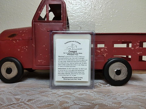 Cowgirl 100% Natural Soy Wax Melt