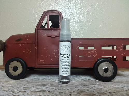 Raspberry Vanilla Air Freshener Spray
