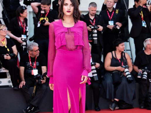 Michela Gaiofatto sul Red Carpet alla Biennale d'Arte Cinematografica di Venezia