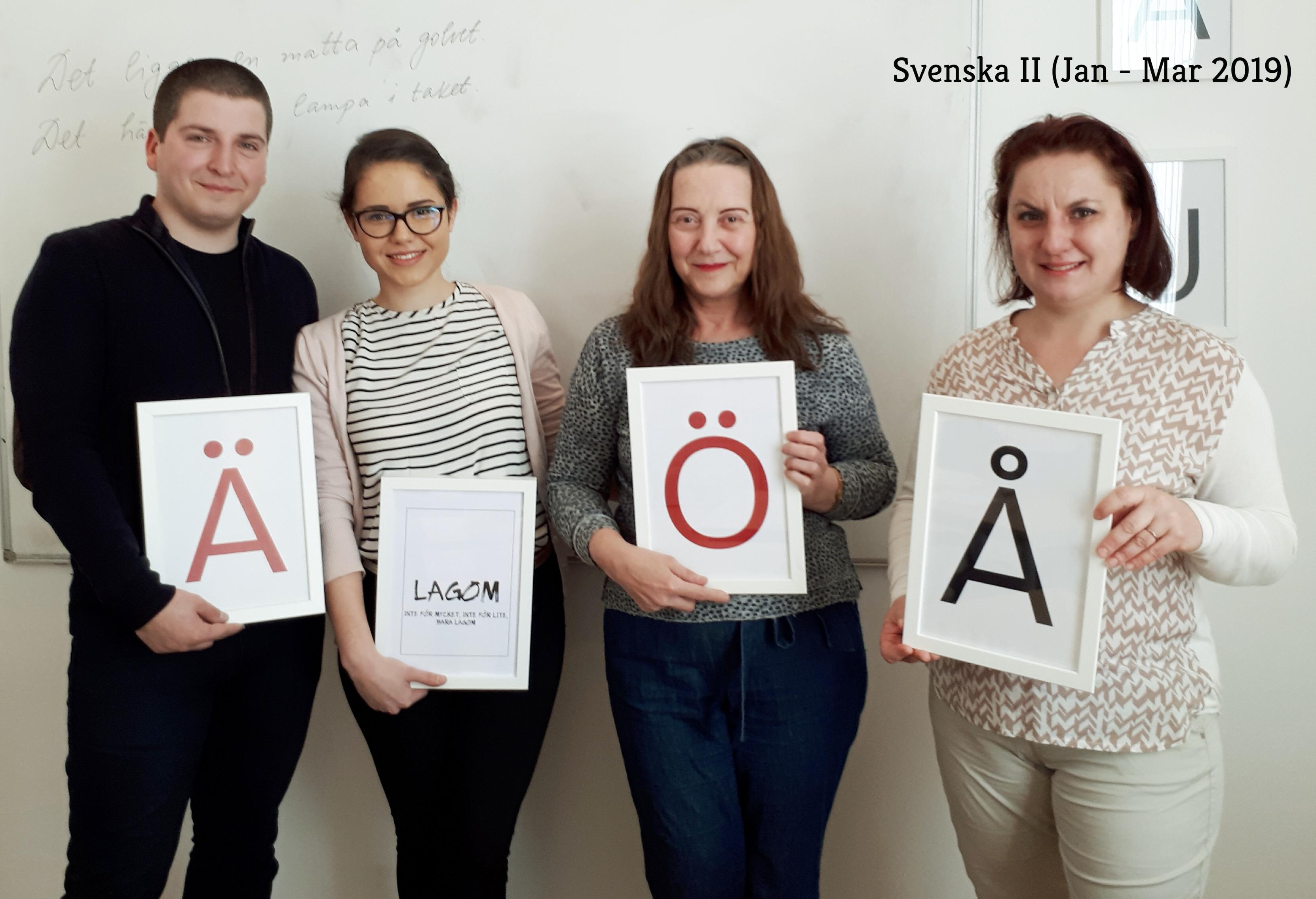 Svenska II 01-03.2019