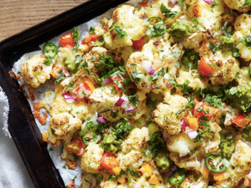 RECIPE: Cheesy Cauliflower Nachos