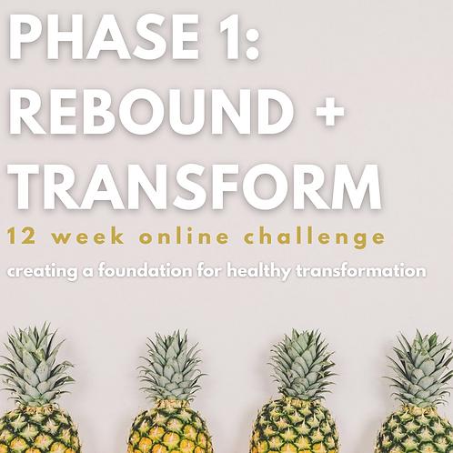 PHASE 1: REBOUND+TRANSFORM online challenge