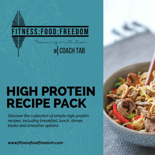 HIGH PROTEIN COLLECTION || RECIPE PACK