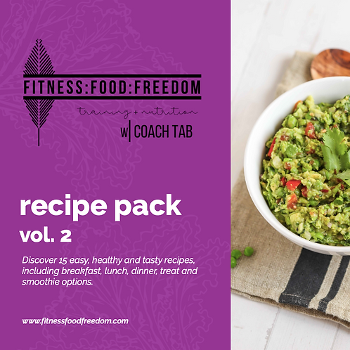 Vol. 2 MONTHLY || RECIPE PACK
