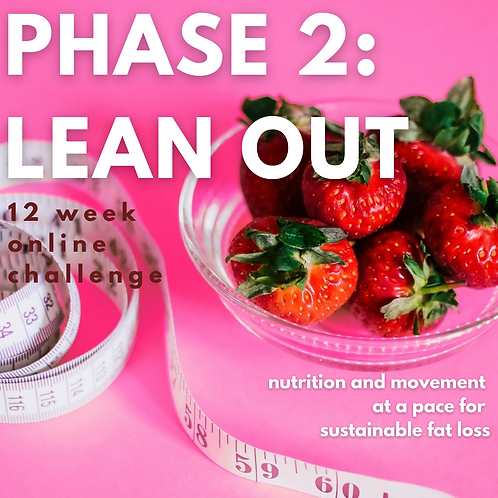 PHASE 2: LEAN OUT online challenge