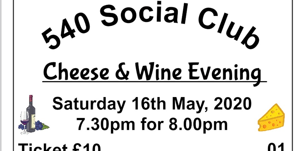 Cheese & Wine Evening ❌CANCELLED ❌