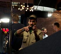 Kenneth Kokin Selfie on Blood Moon Set