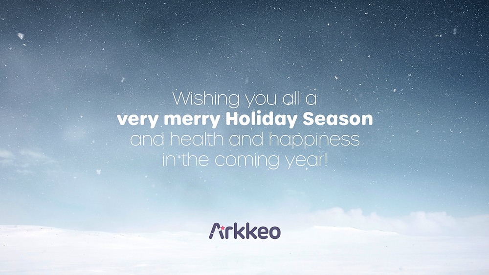 Arkkeo wishes you a very merry Holiday Season!