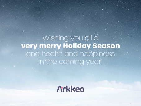 From everyone at Team Arkkeo, Happy Holidays!💜