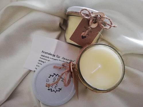 """Aromakerze für Gesunden Raum Duft """"Die Gelbe"""""""