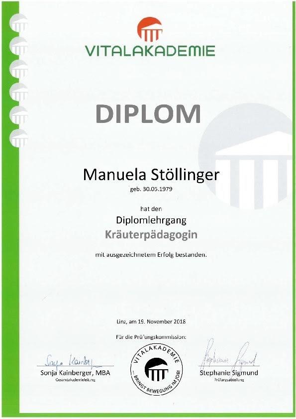 Diplom Kräuterpädagoge
