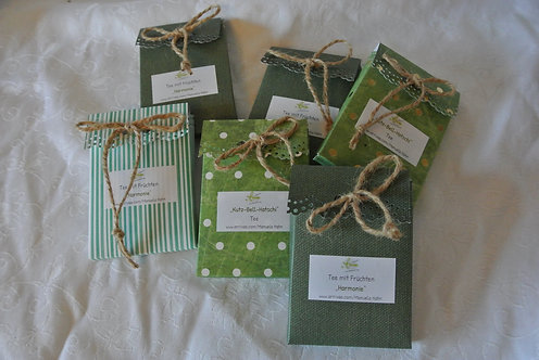 """Teesäckchen in Geschenksverpackung - """"Kutz-Bell-Hatschi"""" Tee"""