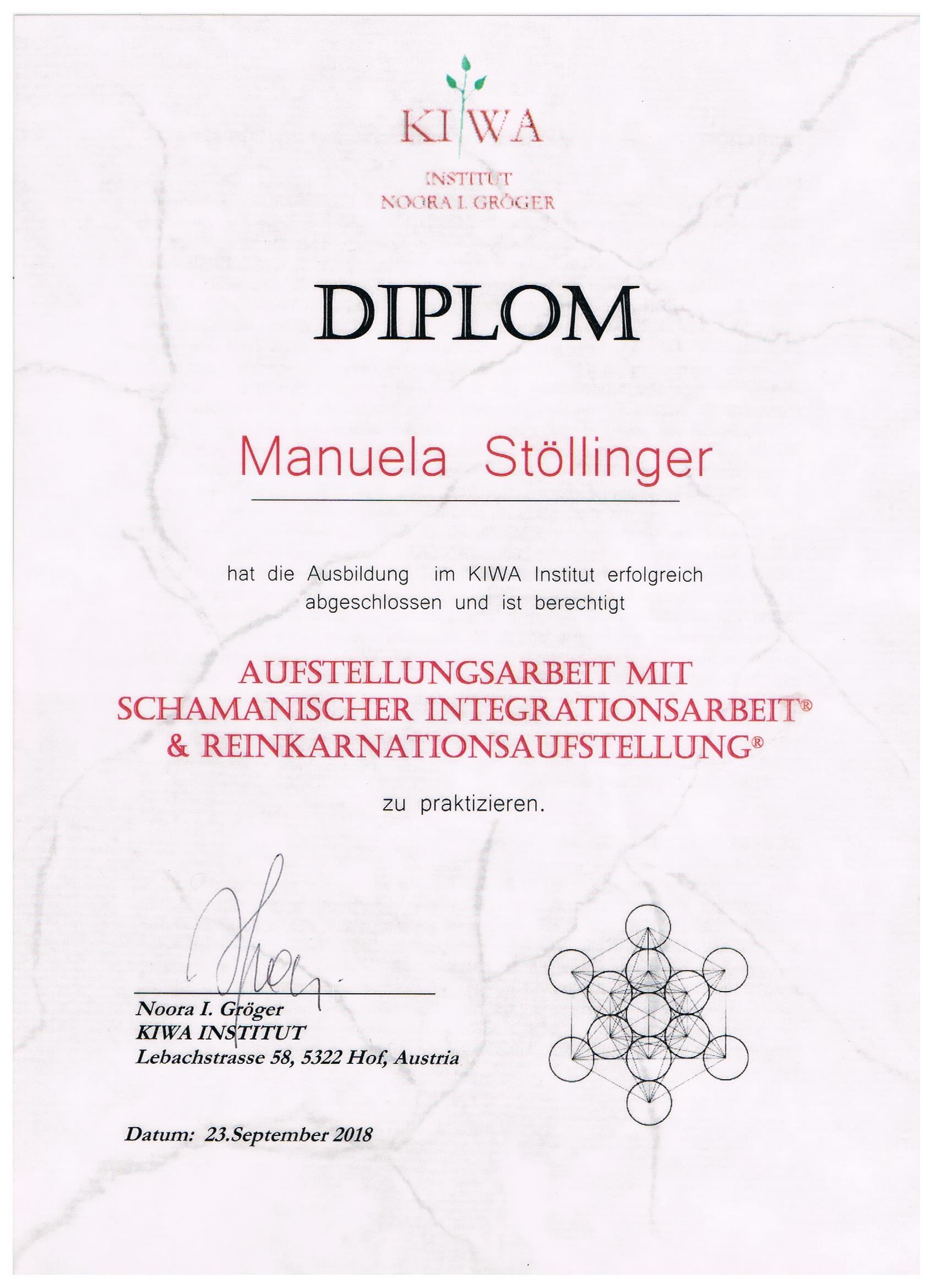 Diplom Aufstellungsarbeit