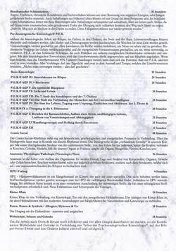 Stundenaufstellung Präventiv-Gesundheitstrainer Seite 2