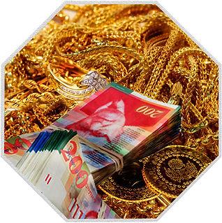 מכירת זהב במזומן