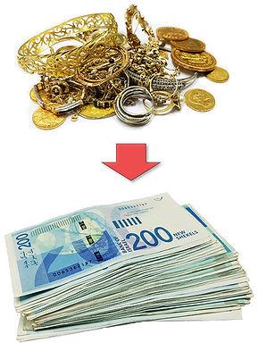 קונים זהב במזומן