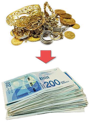 מכירת תכשיטי זהב