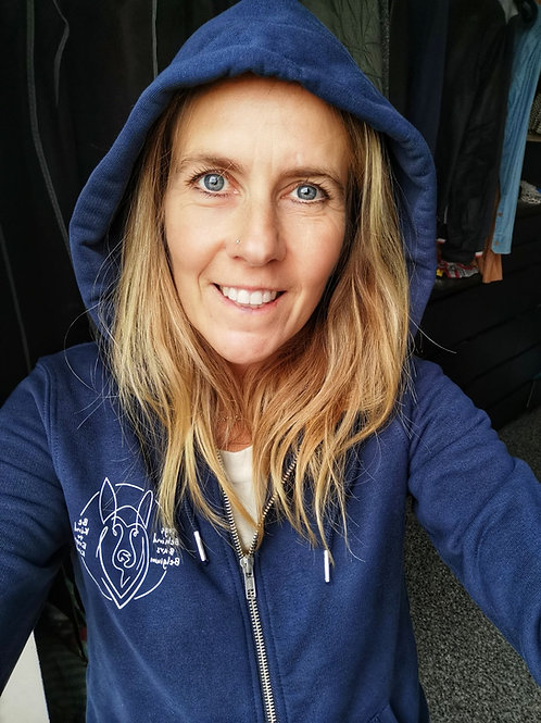 Hoodie Heather French Navy Woman