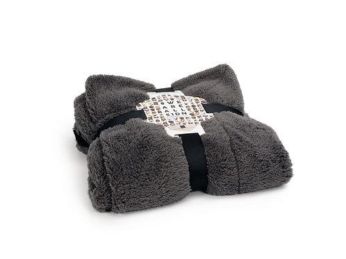 Sheep Blanket Grey/Black 150/100 cm