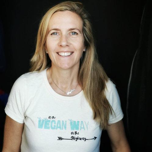 T-Shirt Vegan Way White