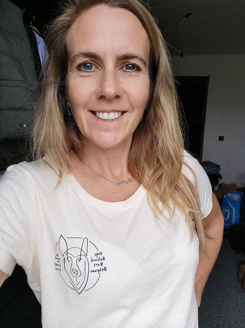 T-Shirt Natural Raw Woman