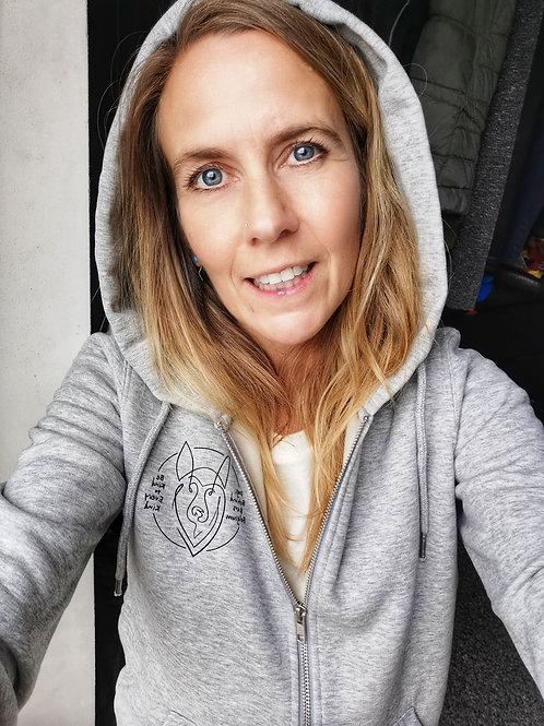 Hoodie Heather Grey Woman