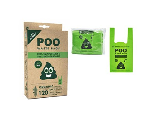 Compostable Bio Waste Bags 120pcs