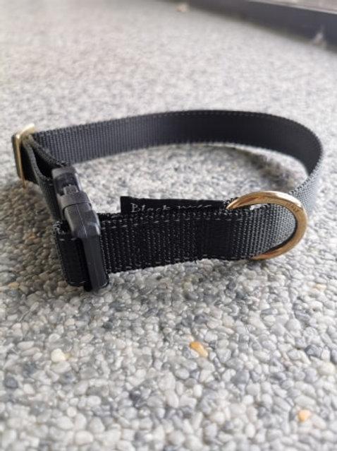 Halsband voor Tube-Line Zwart
