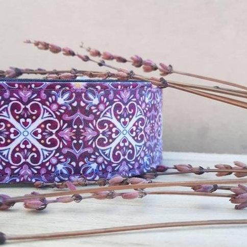 Martingale Morado Cenefa Lavendel 5 cm