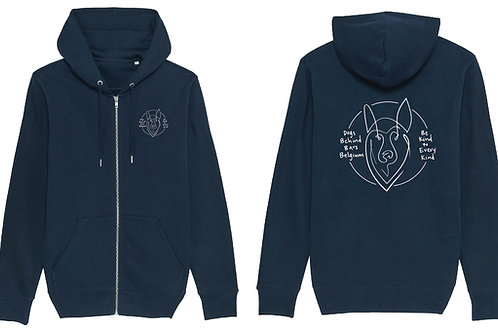 Hoodie Heather French Navy Man