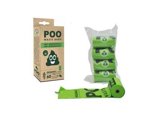 Compostable Bio Waste Bags 60pcs