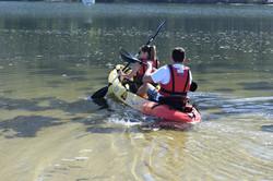 Travesia en kayak Cascada de Ezaro