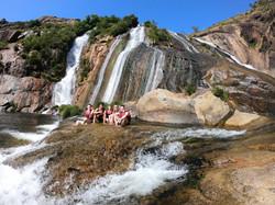 Tour en kayak por la Cascada de Ezaro